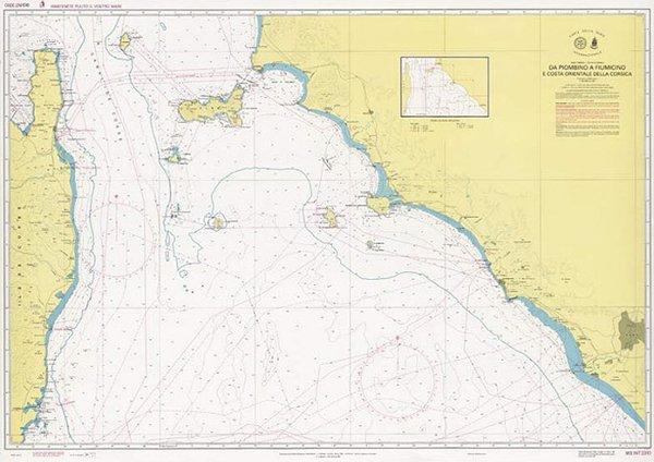 Da Piombino a Fiumicino e costa orientale della Corsica