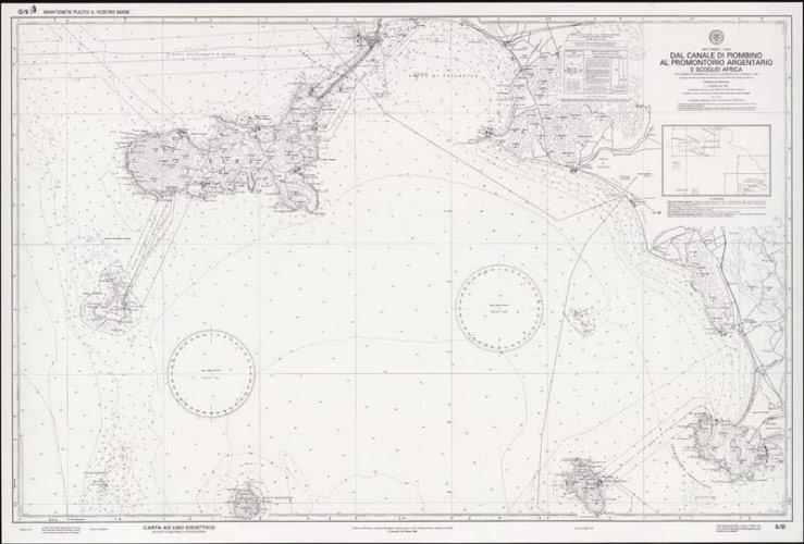 Dal Canale di Piombinio al Promontorio Argentario e Scoglio Africa