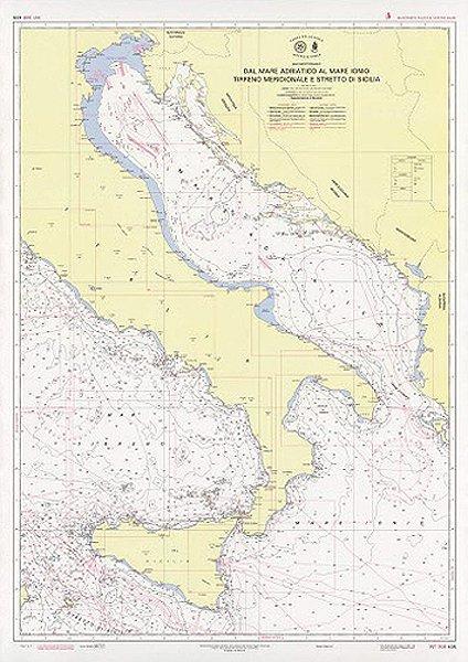 Dal Mar Adriatico al Mar Ionio – Tirreno Meridionale e Stretto di Sicilia