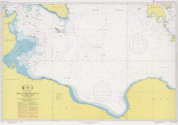 Dallo Stretto di Sicilia al Mare Egeo