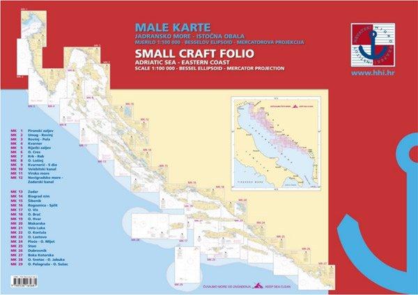 Male Karte – Mar Adriatico costa orientale