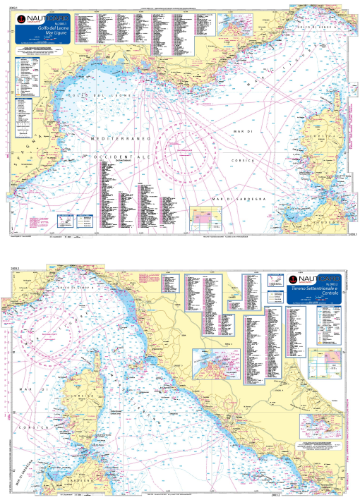 Mar Ligure – Mar Tirreno