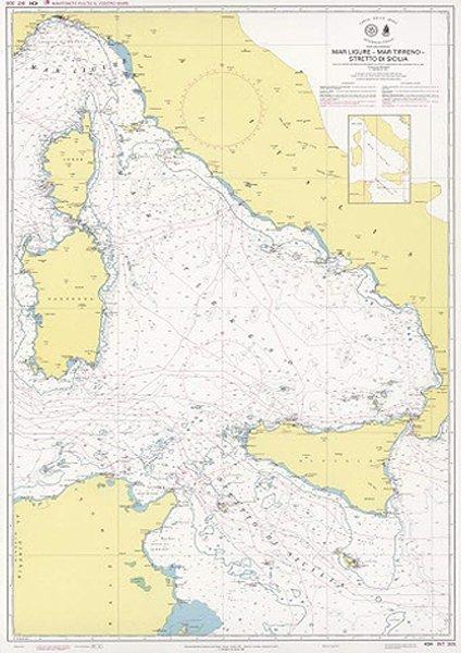 Mar Ligure – Mar Tirreno – Stretto di Sicilia