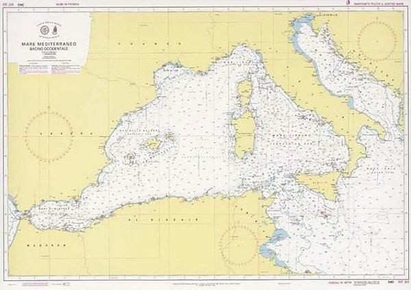 Mar Mediterraneo – bacino occidentale