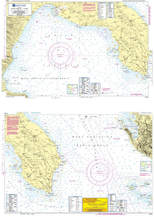 Marina di Sibari – Porto di Tricase – Porto Cesareo – Casalabate
