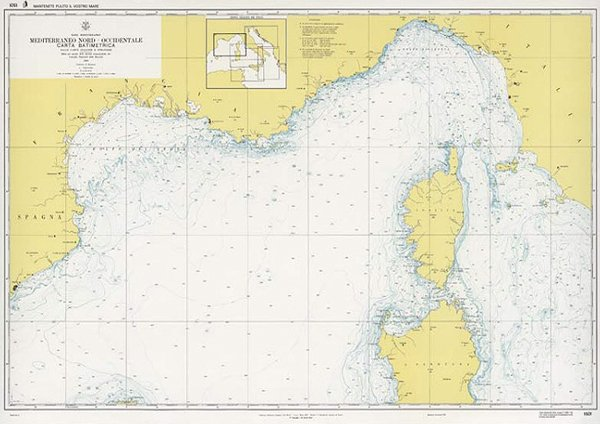Cartina Mediterraneo Occidentale.Mediterraneo Nord Occidentale Edizioni Magnamare