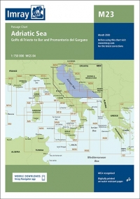 Adriatic Sea passage chart
