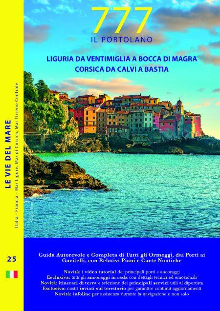 Liguria – Da Ventimiglia a Bocca di Magra <br>Corsica – Da Calvi a Bastia