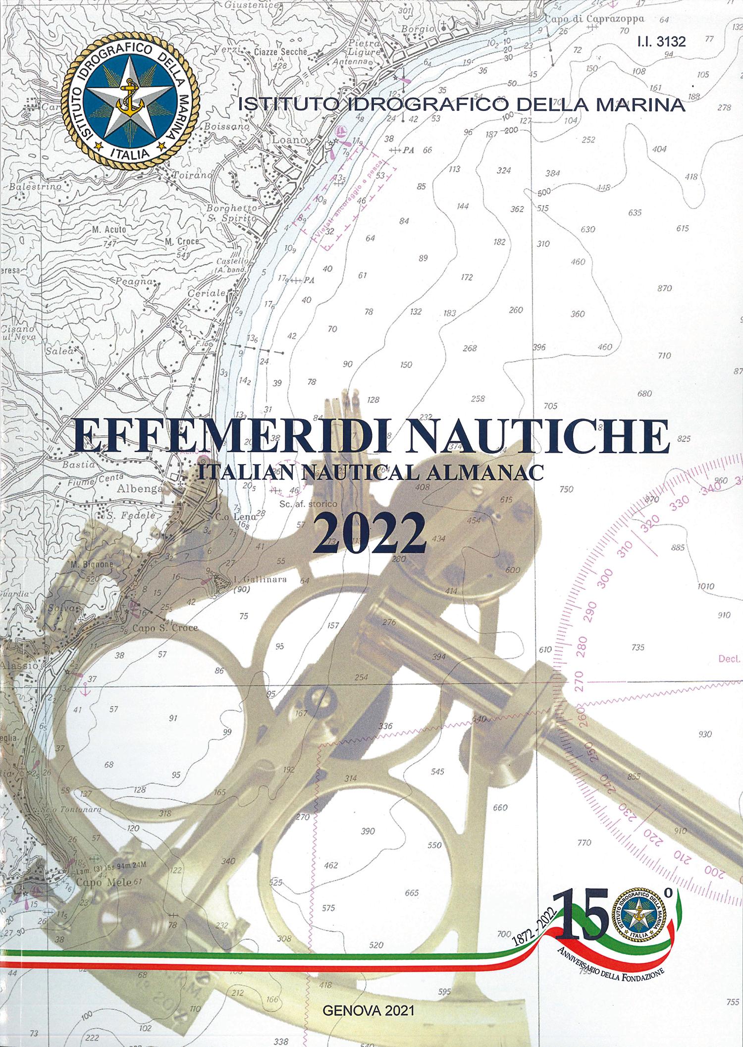 Effemeridi Nautiche 2022